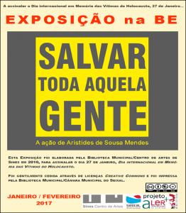 Cartaz EXPO SALVAR p pub nas redes ASM 1617